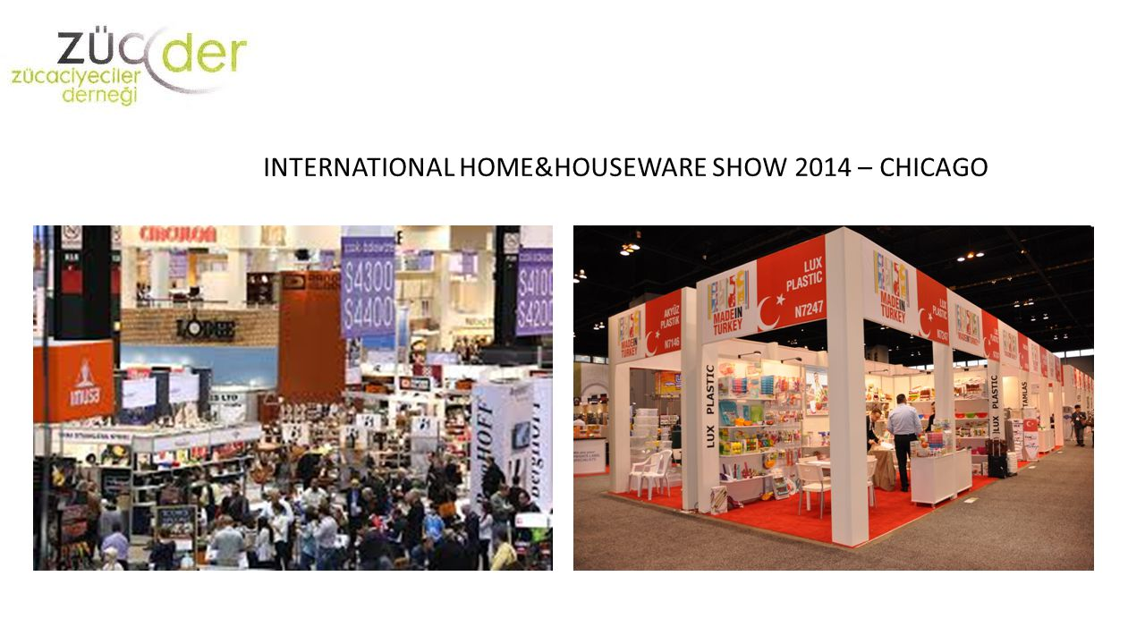 INTERNATIONAL HOME&HOUSEWARE SHOW 2014 – CHICAGO