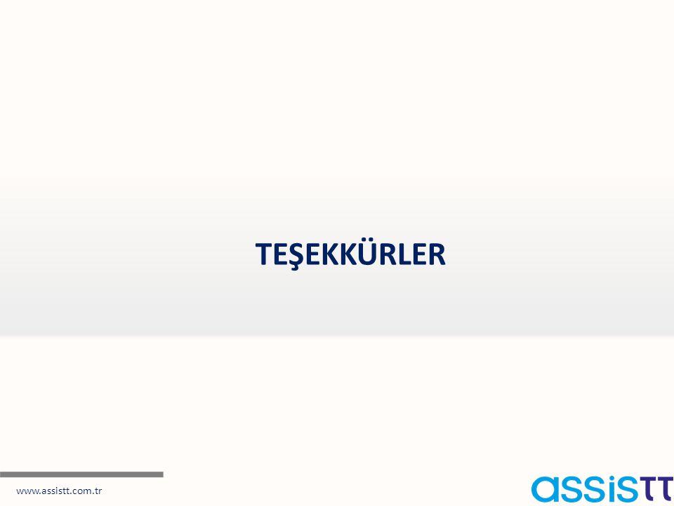 TEŞEKKÜRLER www.assistt.com.tr