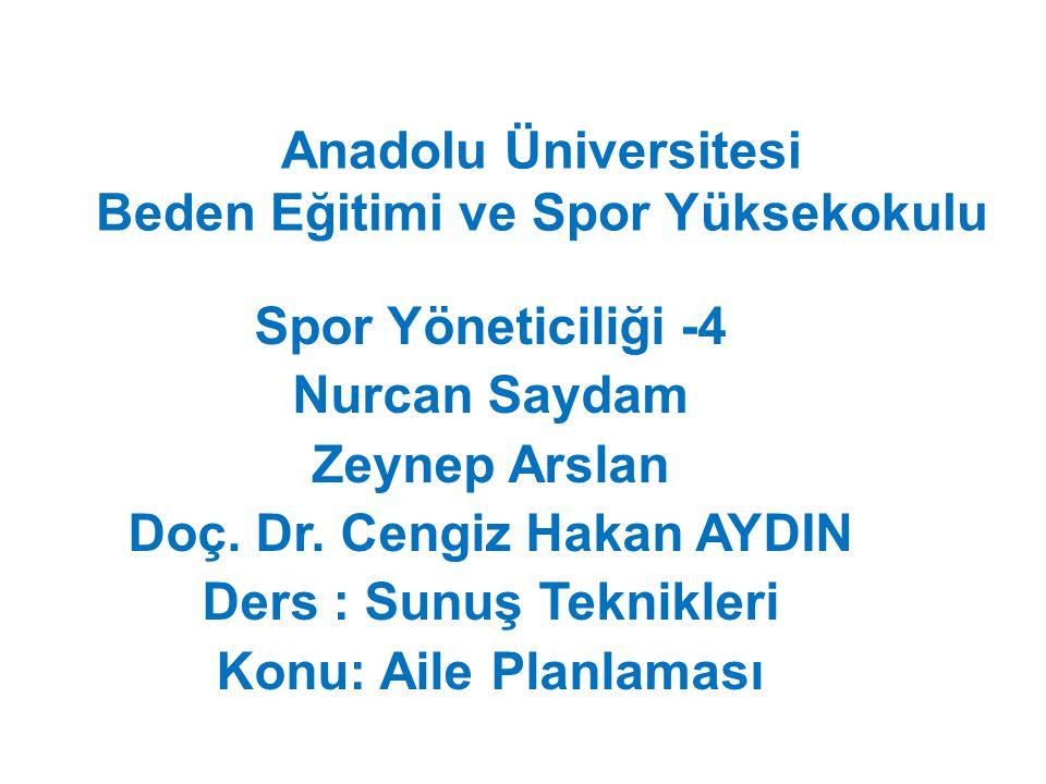 Anadolu Üniversitesi Beden Eğitimi ve Spor Yüksekokulu