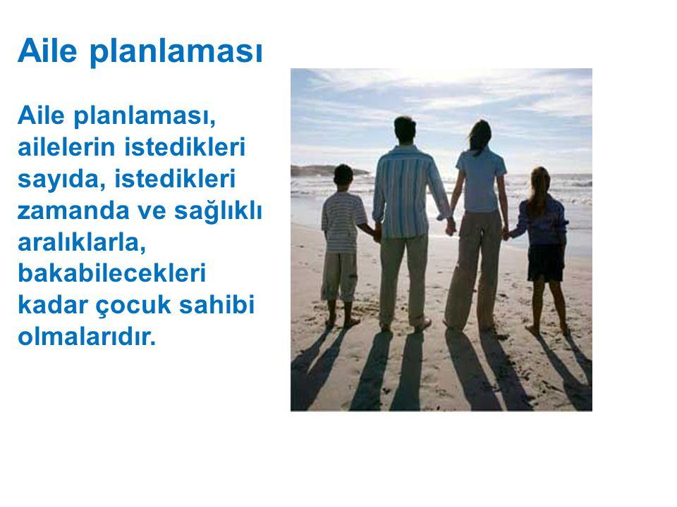 Aile planlaması