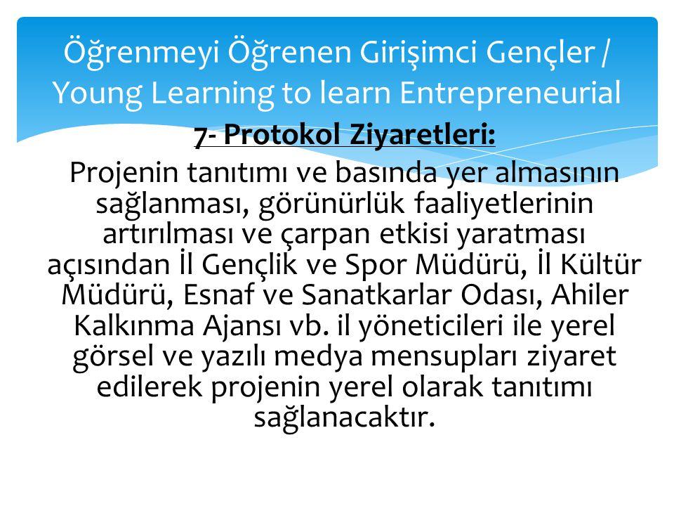 Öğrenmeyi Öğrenen Girişimci Gençler / Young Learning to learn Entrepreneurial