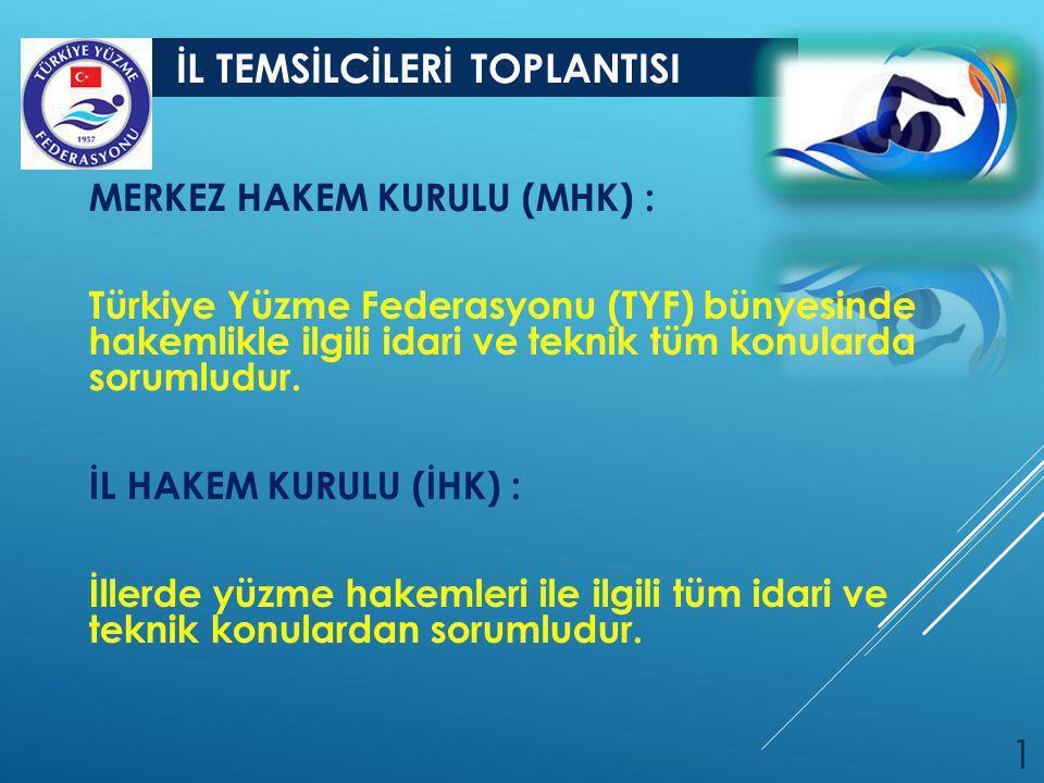 MERKEZ HAKEM KURULU (MHK) :