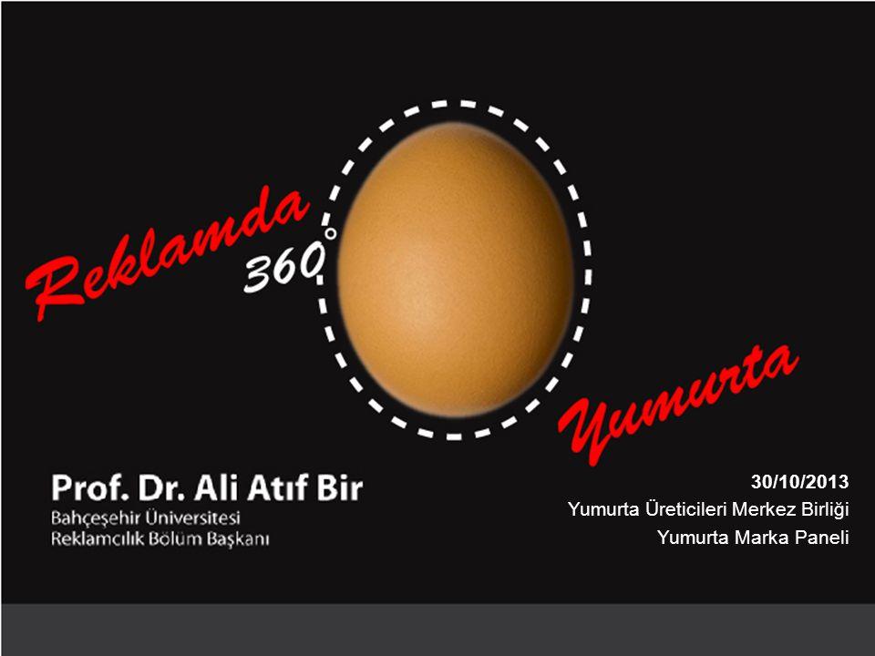 30/10/2013 Yumurta Üreticileri Merkez Birliği Yumurta Marka Paneli