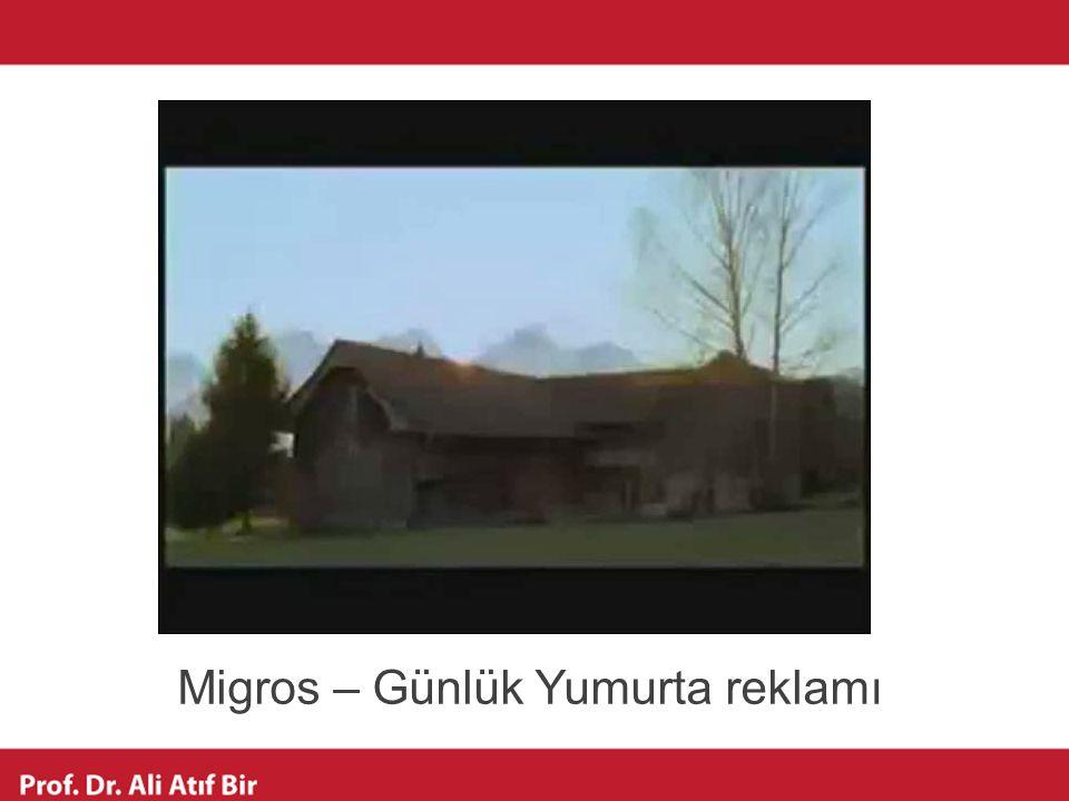 Migros – Günlük Yumurta reklamı