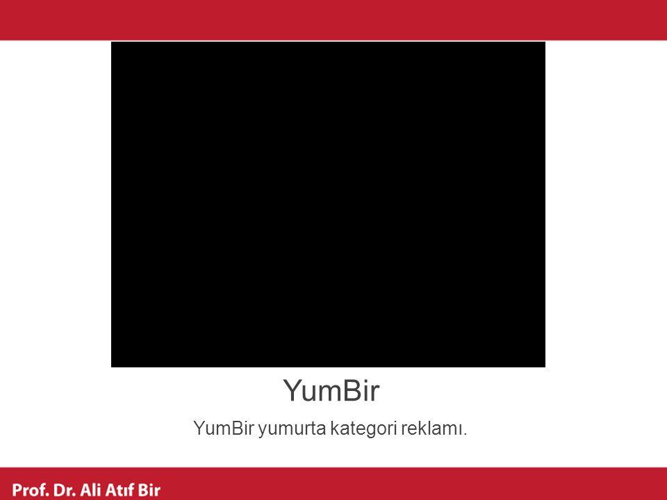 YumBir yumurta kategori reklamı.
