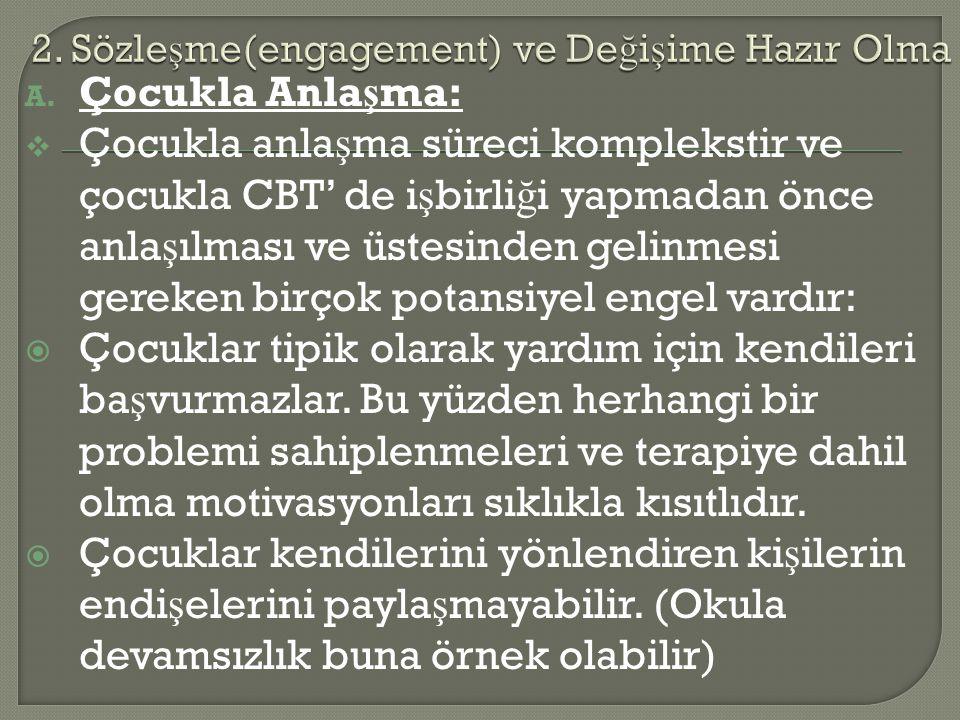 2. Sözleşme(engagement) ve Değişime Hazır Olma