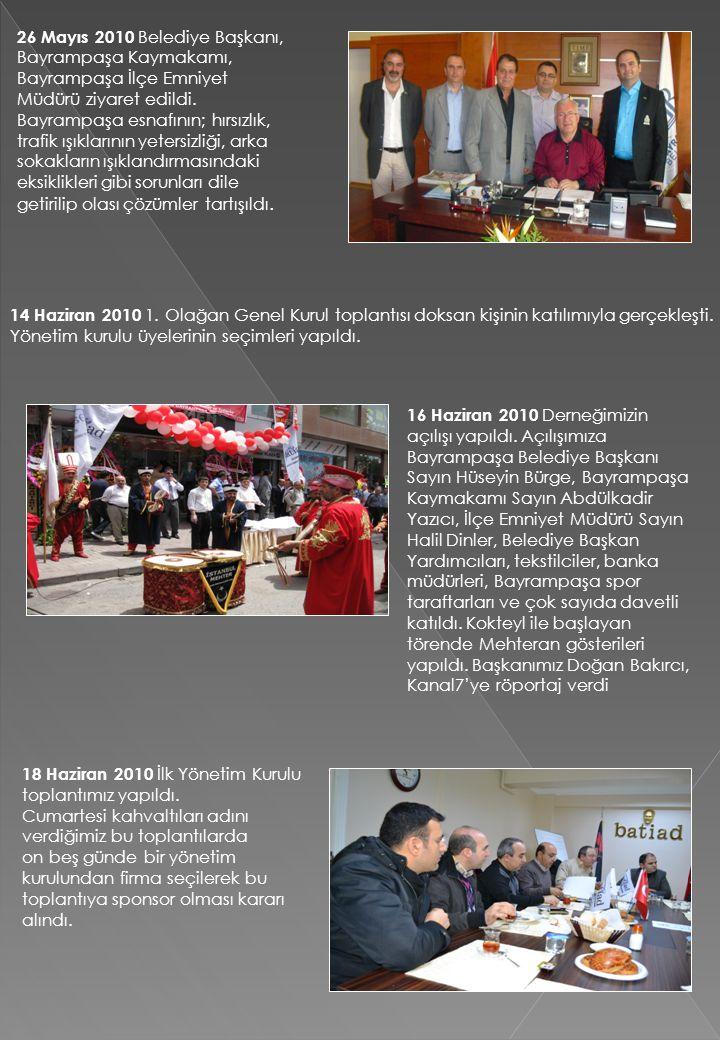 26 Mayıs 2010 Belediye Başkanı, Bayrampaşa Kaymakamı,