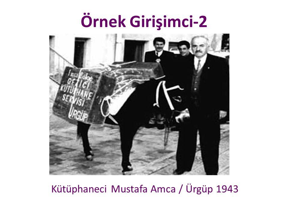 Kütüphaneci Mustafa Amca / Ürgüp 1943