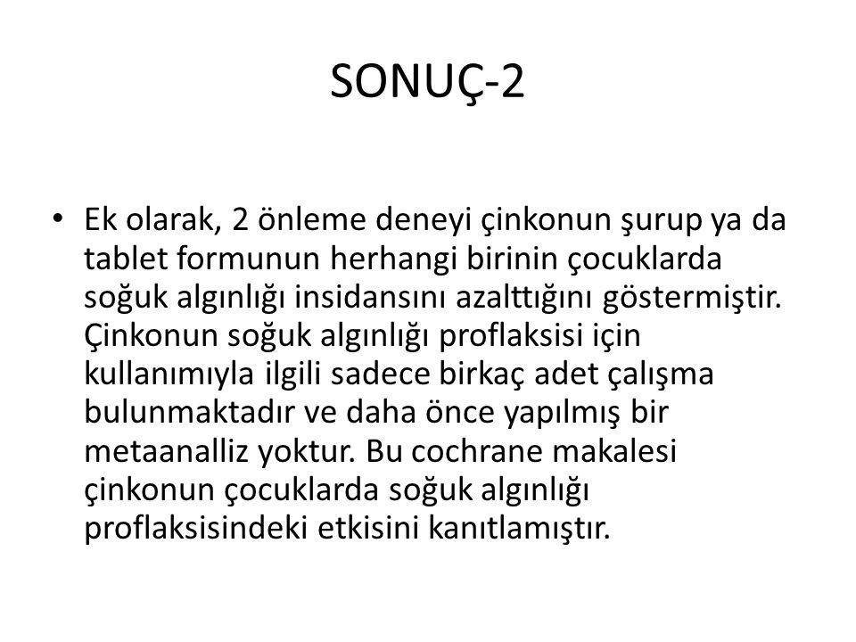 SONUÇ-2