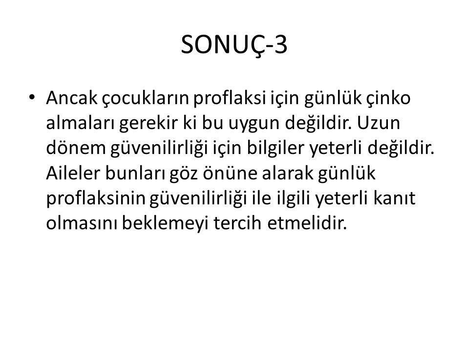 SONUÇ-3