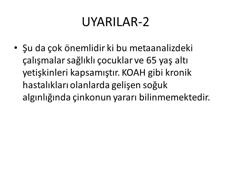 UYARILAR-2