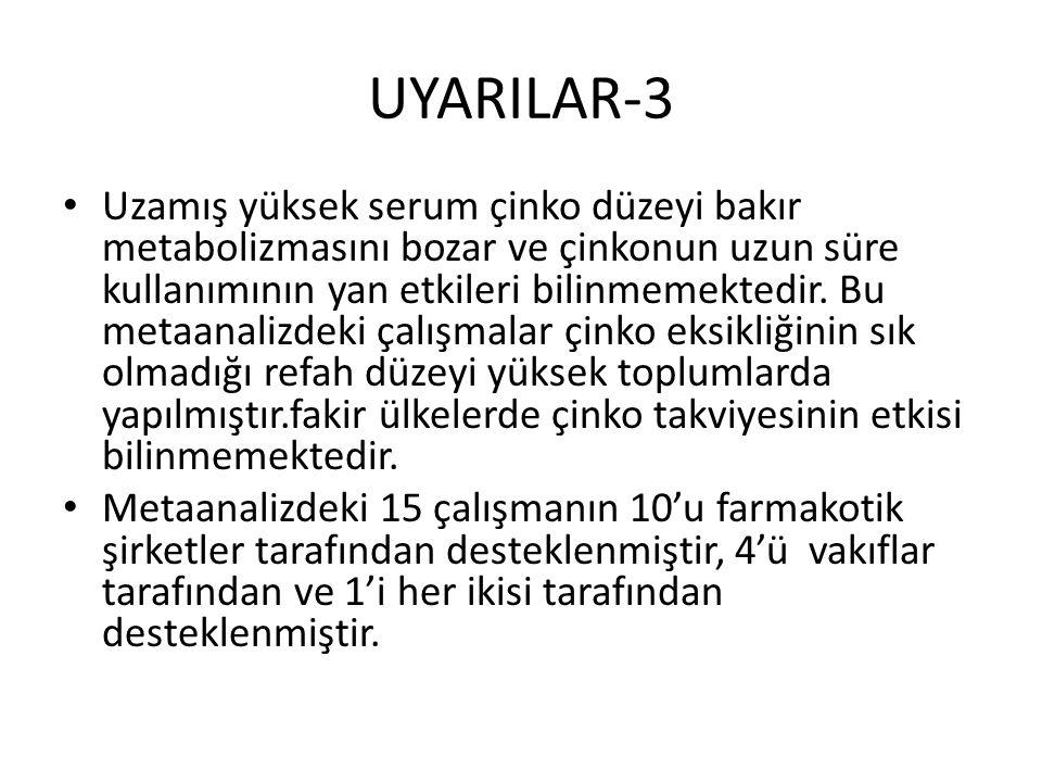 UYARILAR-3