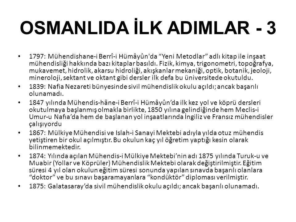 OSMANLIDA İLK ADIMLAR - 3