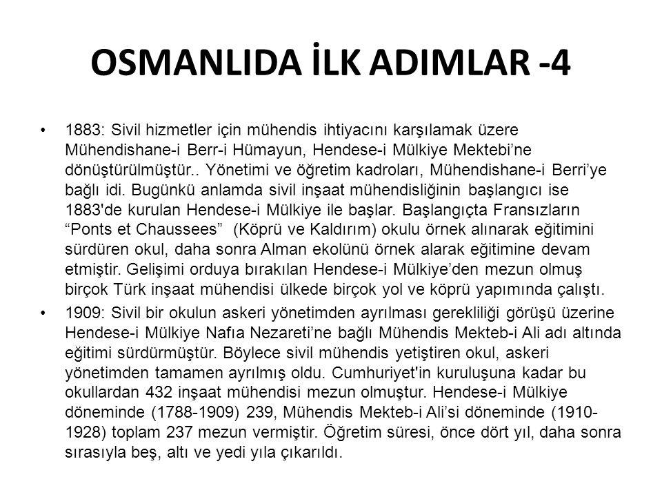 OSMANLIDA İLK ADIMLAR -4
