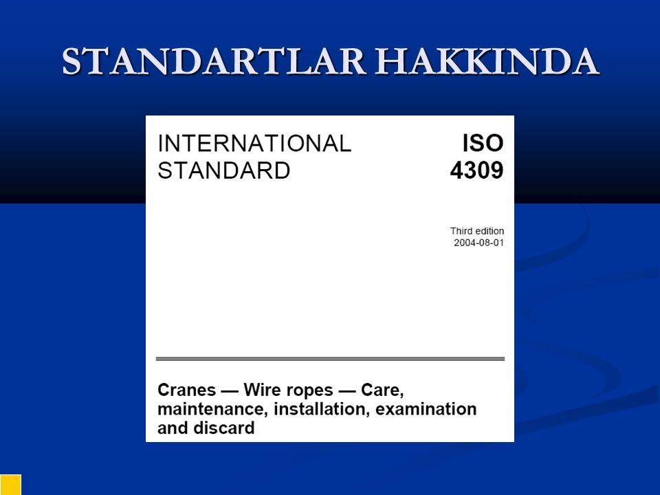 STANDARTLAR HAKKINDA