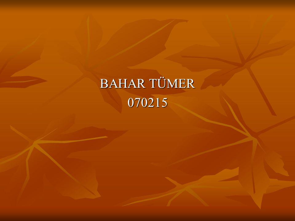 BAHAR TÜMER 070215