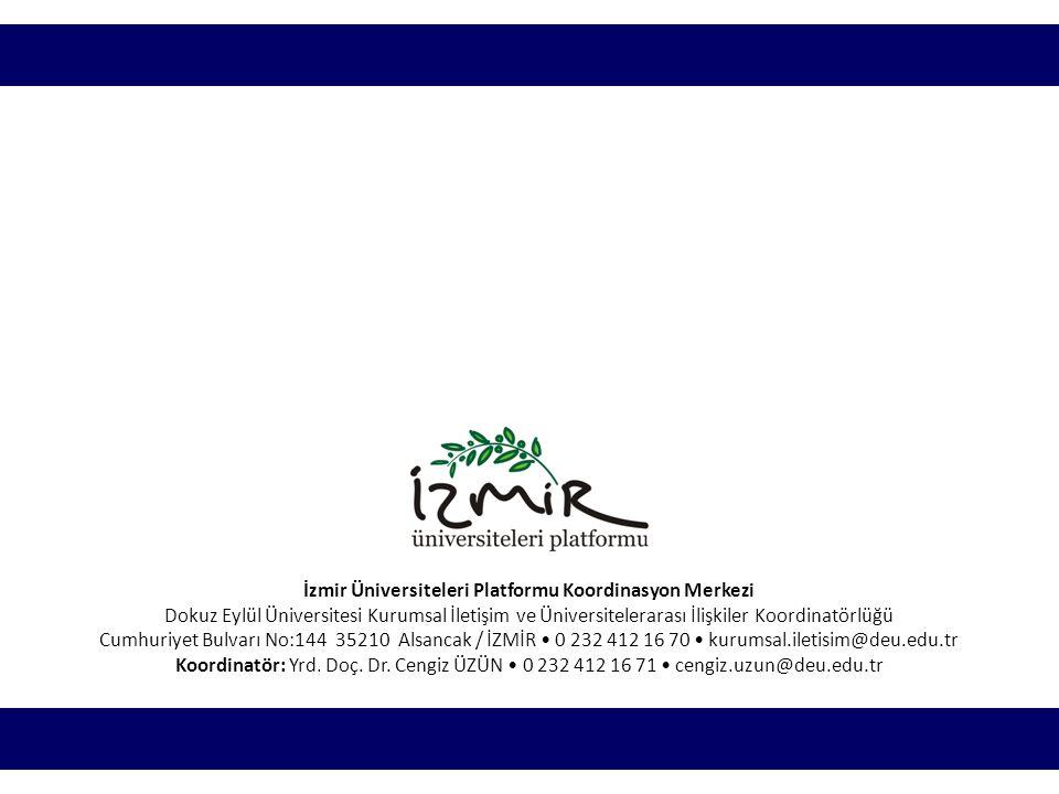 İzmir Üniversiteleri Platformu Koordinasyon Merkezi