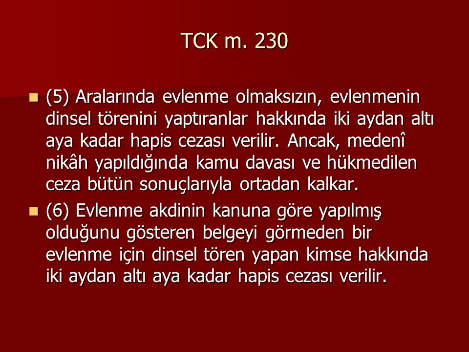 TCK m. 230