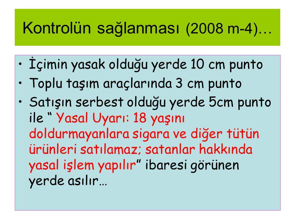 Kontrolün sağlanması (2008 m-4)…