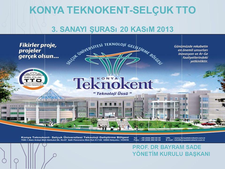 KONYA TEKNOKENT-SELÇUK TTO 3. sanayi şurası 20 kasım 2013