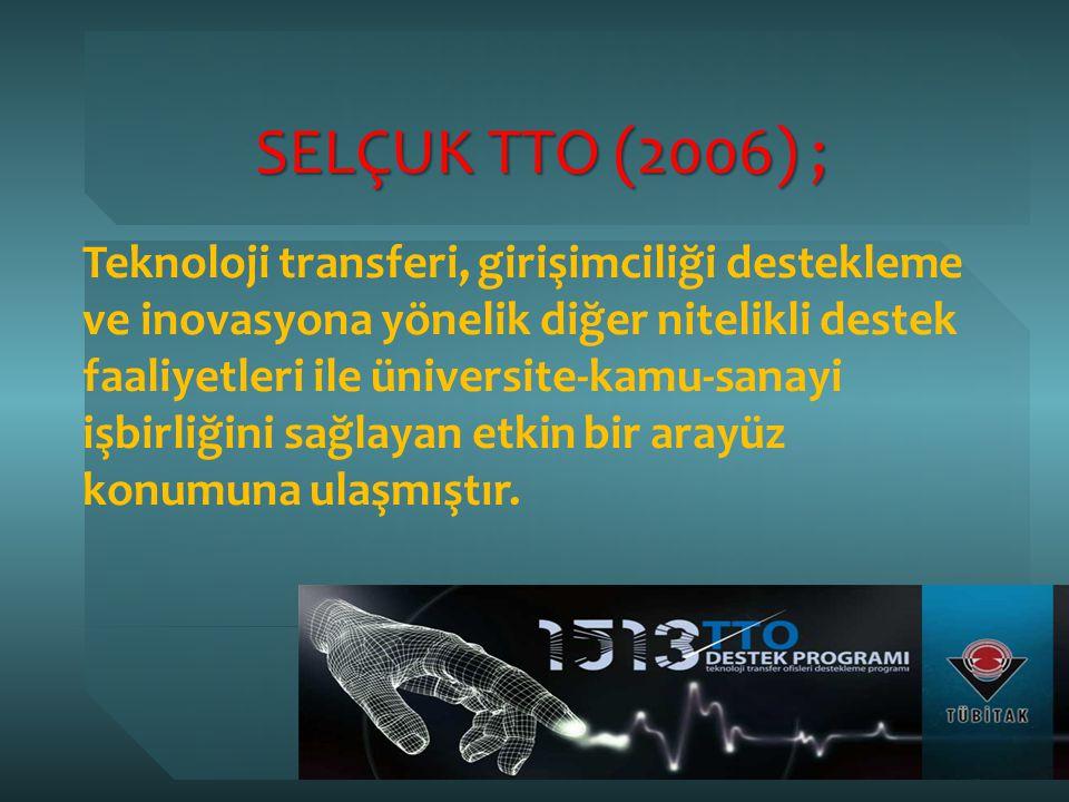 SELÇUK TTO (2006) ;