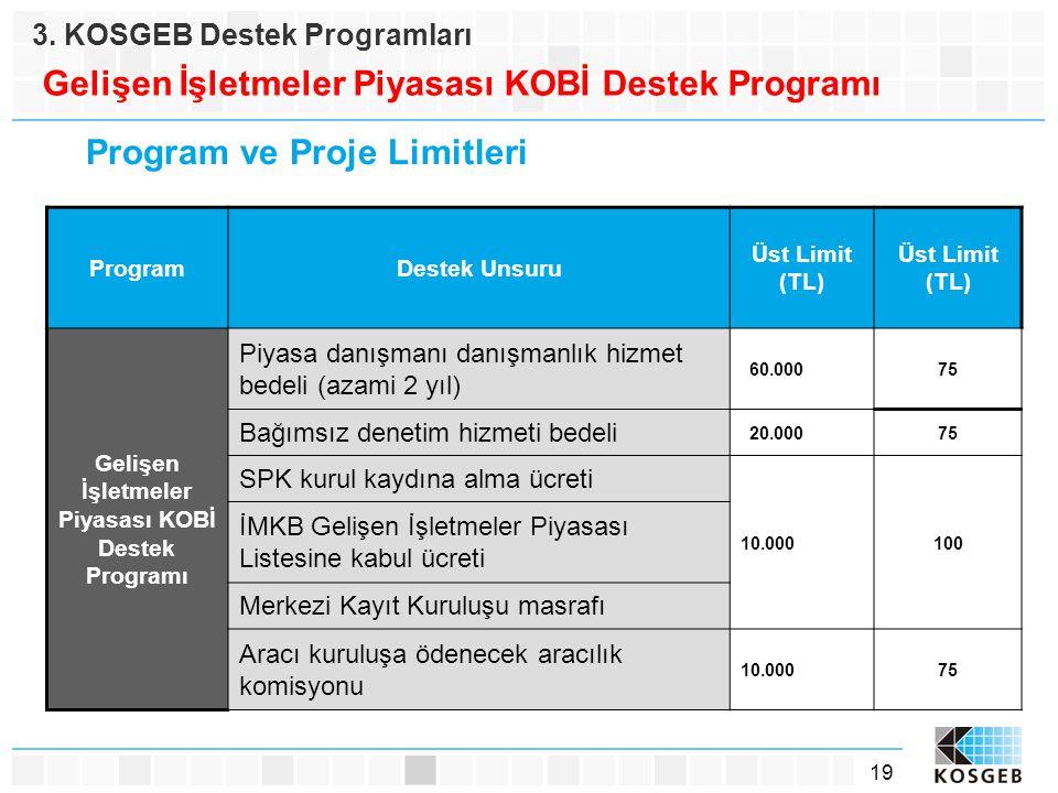 Gelişen İşletmeler Piyasası KOBİ Destek Programı