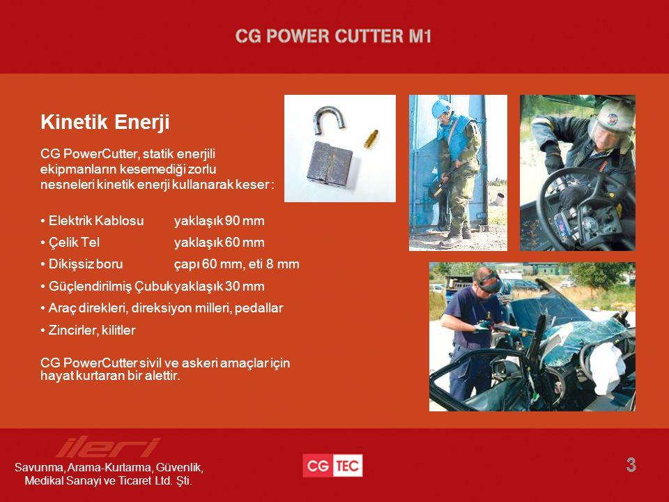 Kinetik Enerji 3 CG PowerCutter, statik enerjili