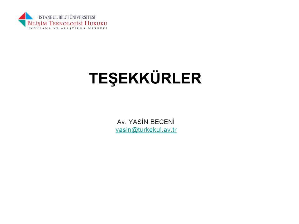 Av. YASİN BECENİ yasin@turkekul.av.tr