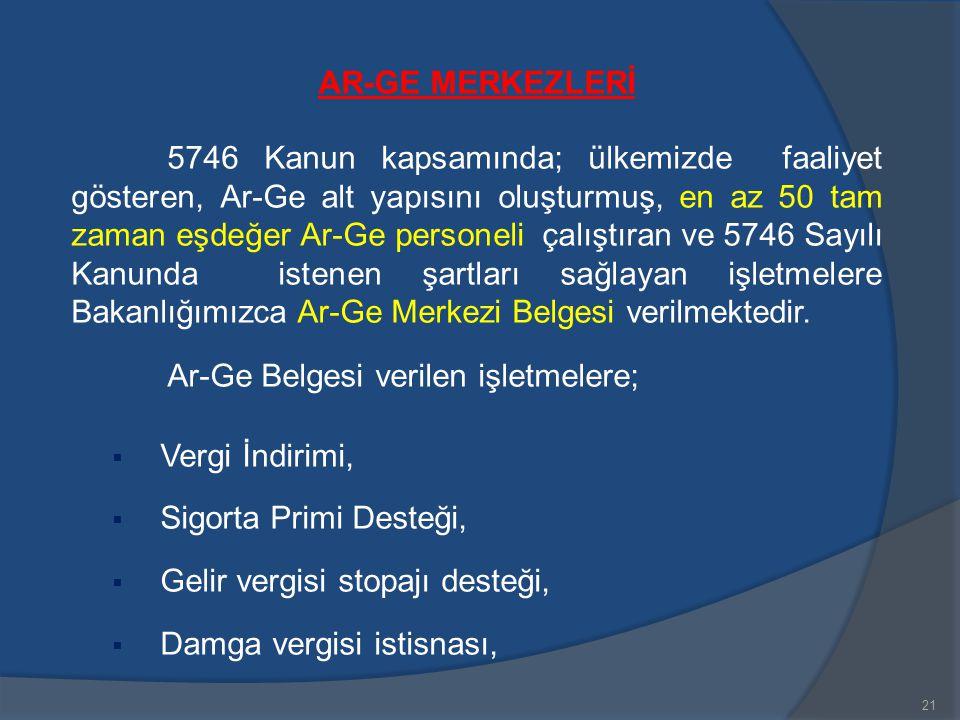 AR-GE MERKEZLERİ