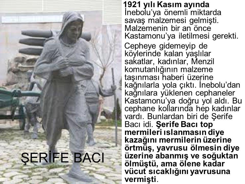 1921 yılı Kasım ayında İnebolu'ya önemli miktarda savaş malzemesi gelmişti. Malzemenin bir an önce Kastamonu'ya iletilmesi gerekti.