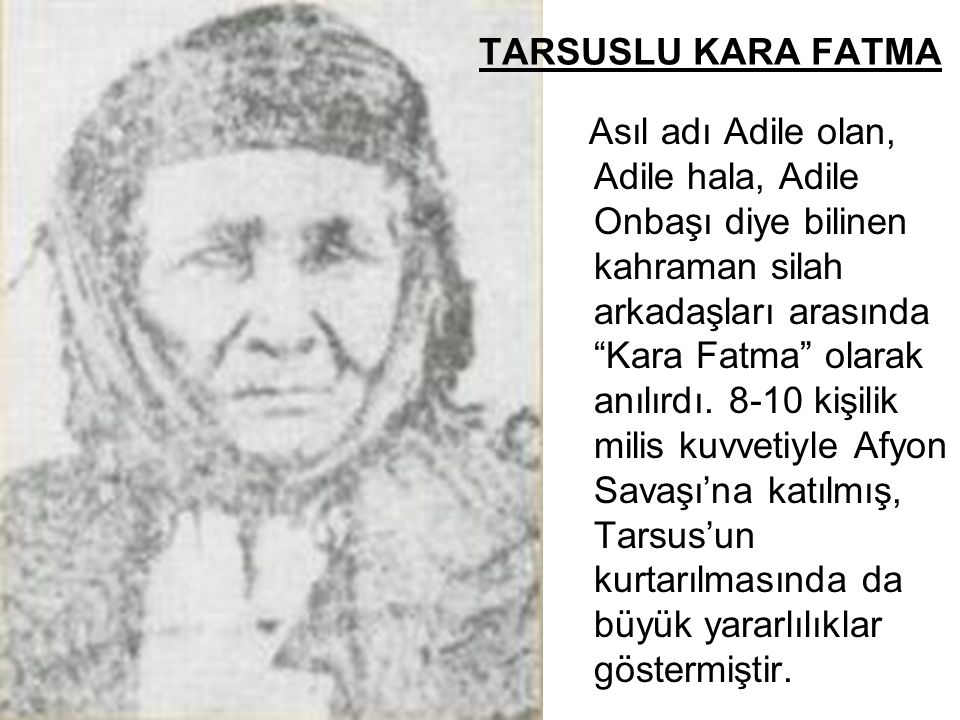 TARSUSLU KARA FATMA