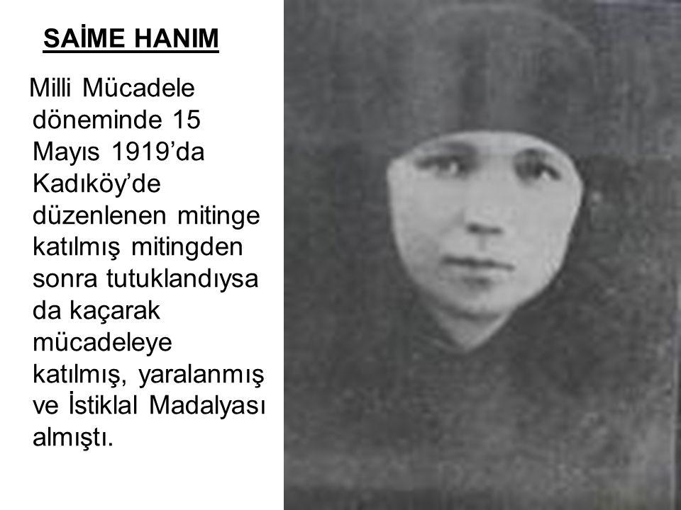 SAİME HANIM