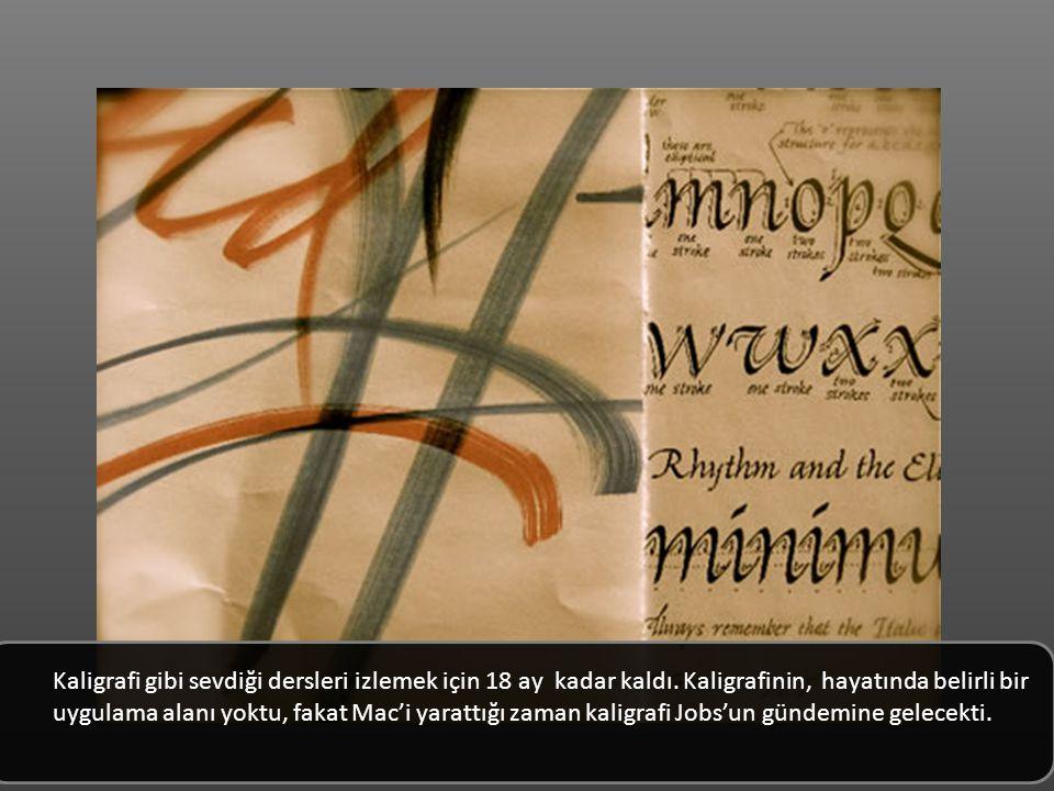 Kaligrafi gibi sevdiği dersleri izlemek için 18 ay kadar kaldı