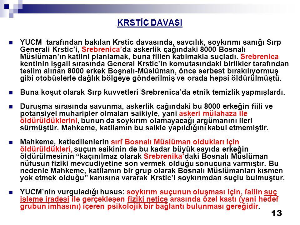 KRSTİC DAVASI