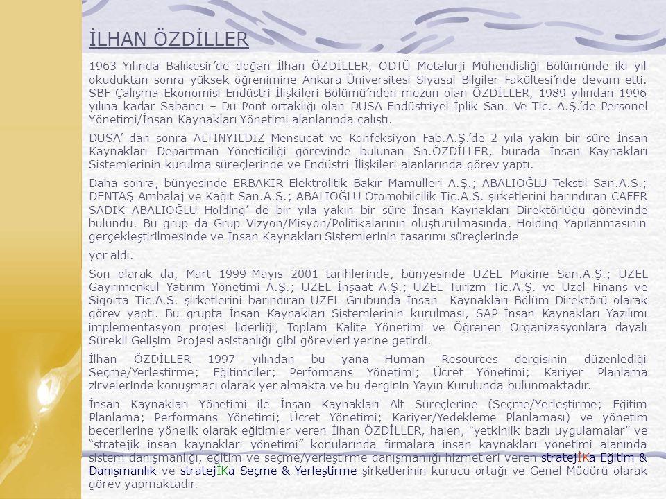İLHAN ÖZDİLLER