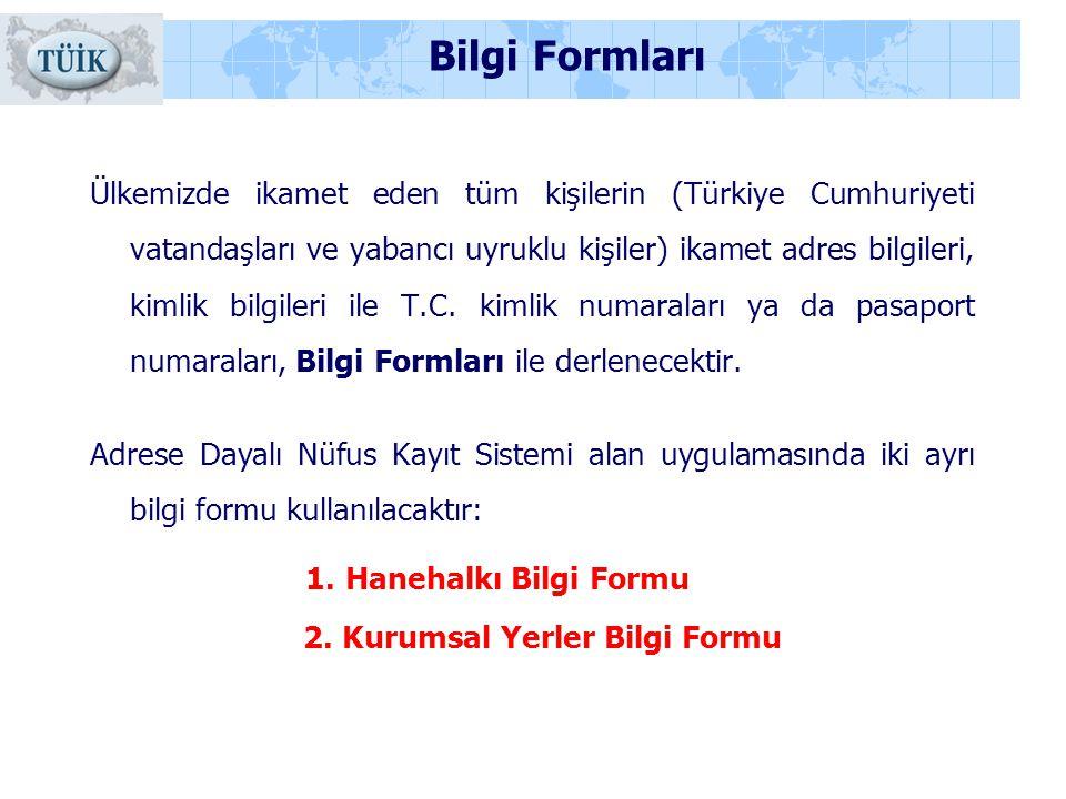 Bilgi Formları