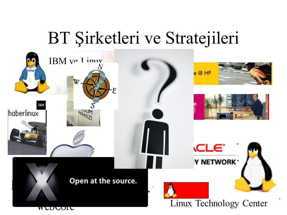 BT Şirketleri ve Stratejileri