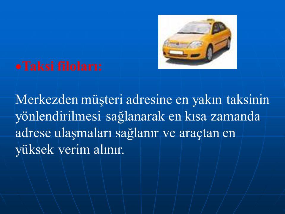 Taksi filoları: