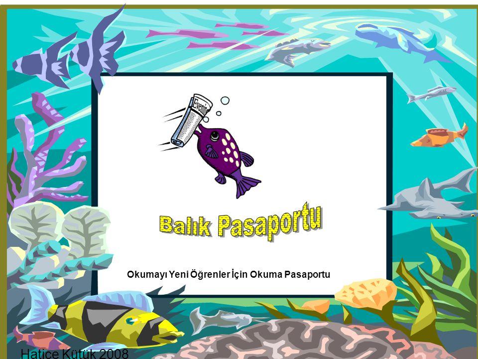 Balık Pasaportu Hatice Kütük 2008