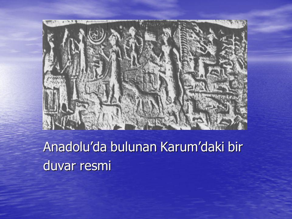 Anadolu'da bulunan Karum'daki bir