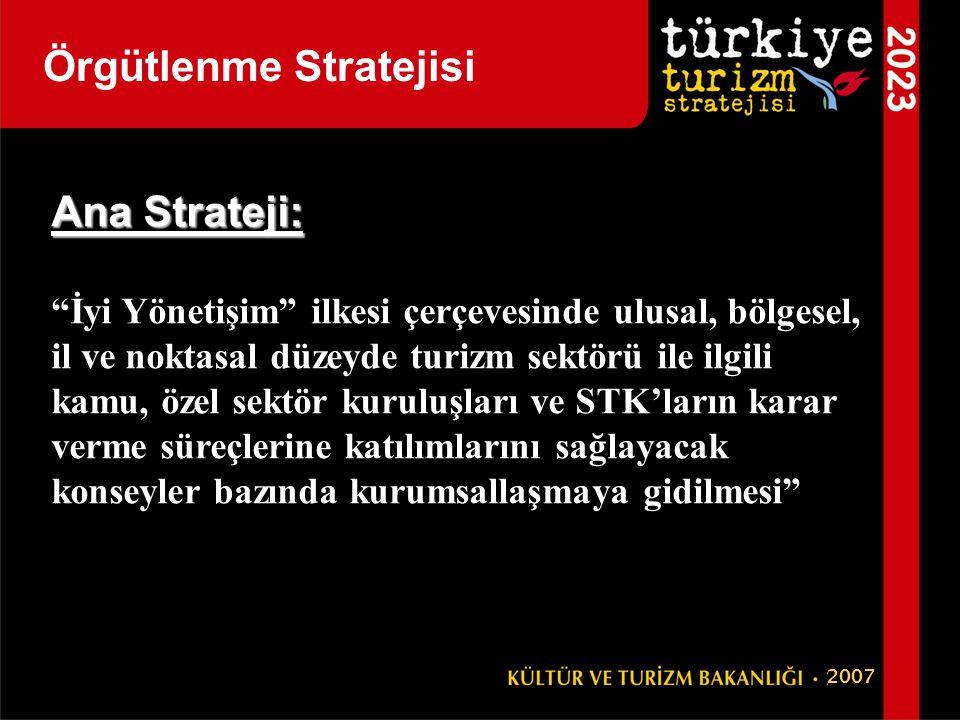 Örgütlenme Stratejisi