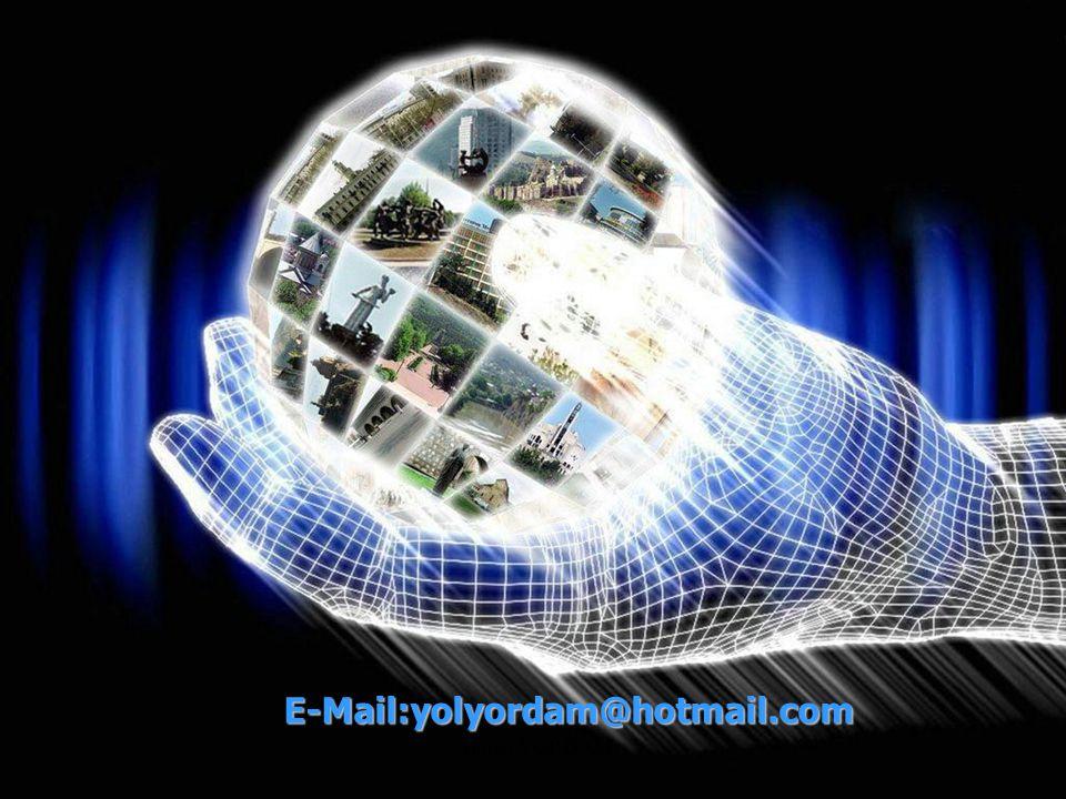 E-Mail:yolyordam@hotmail.com Ahmet YORDAM