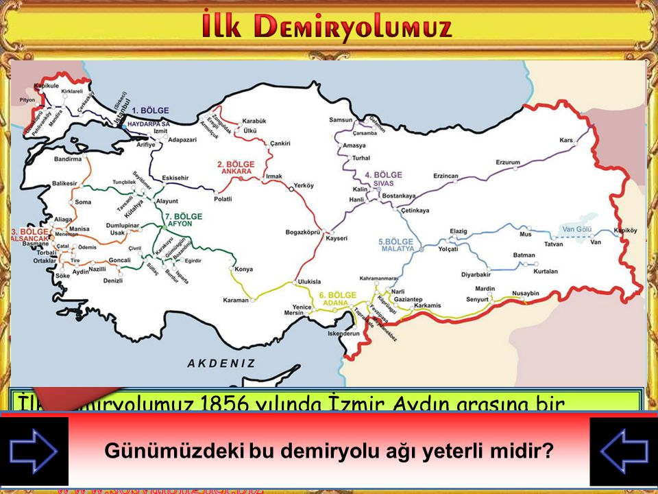 İzmir ve çevresinin kalabalık olması ticaretin gelişmiş olması ve İngilizlerin ihtiyacı olan hammaddelerin burada bulunması yüzünden ilk demiryolumuz buraya yapılmıştır