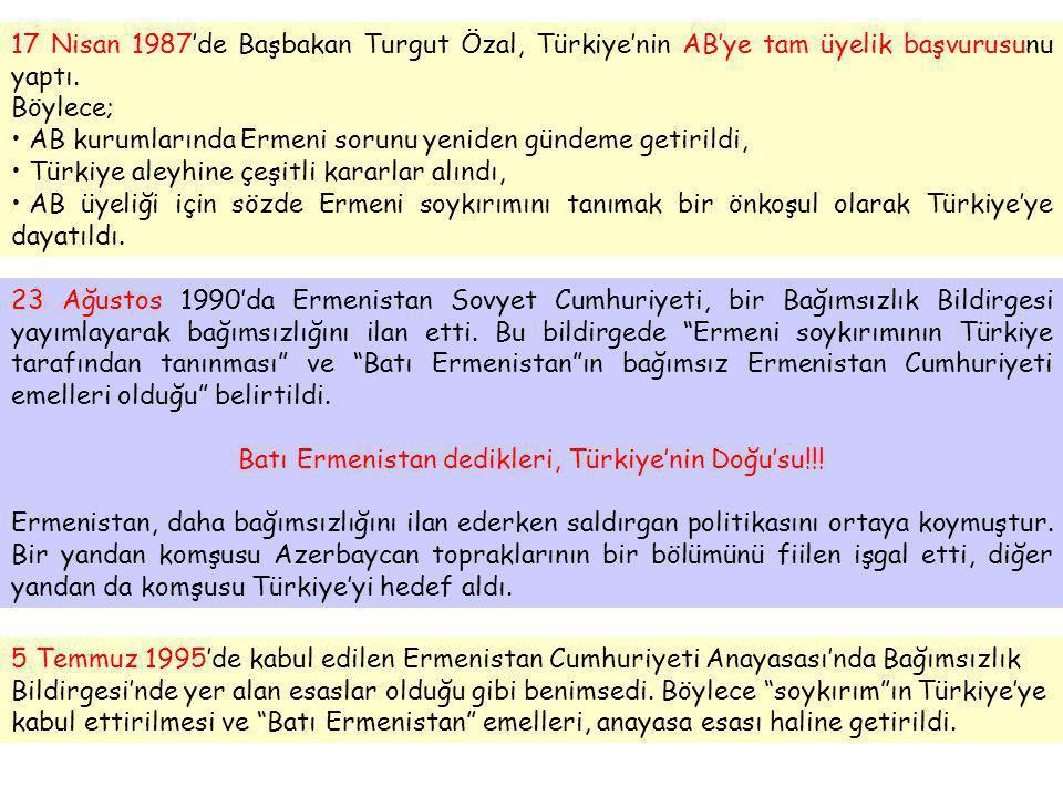 Batı Ermenistan dedikleri, Türkiye'nin Doğu'su!!!