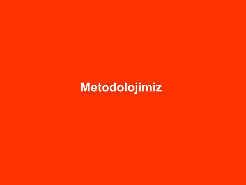 Metodolojimiz 9