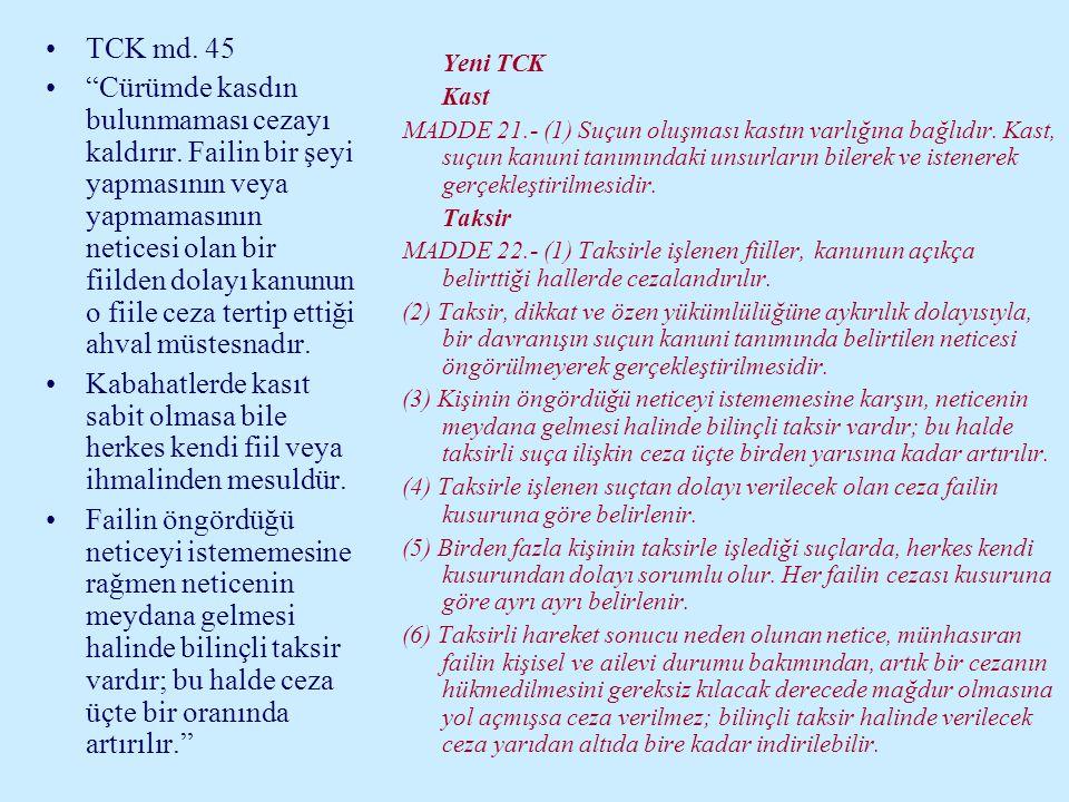 TCK md. 45