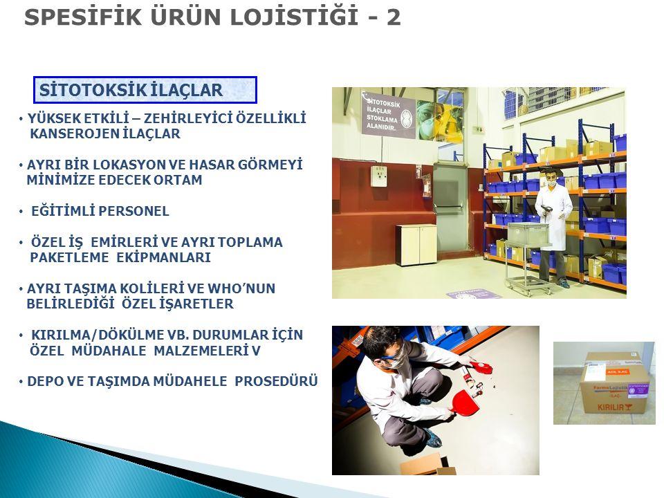 SPESİFİK ÜRÜN LOJİSTİĞİ - 2