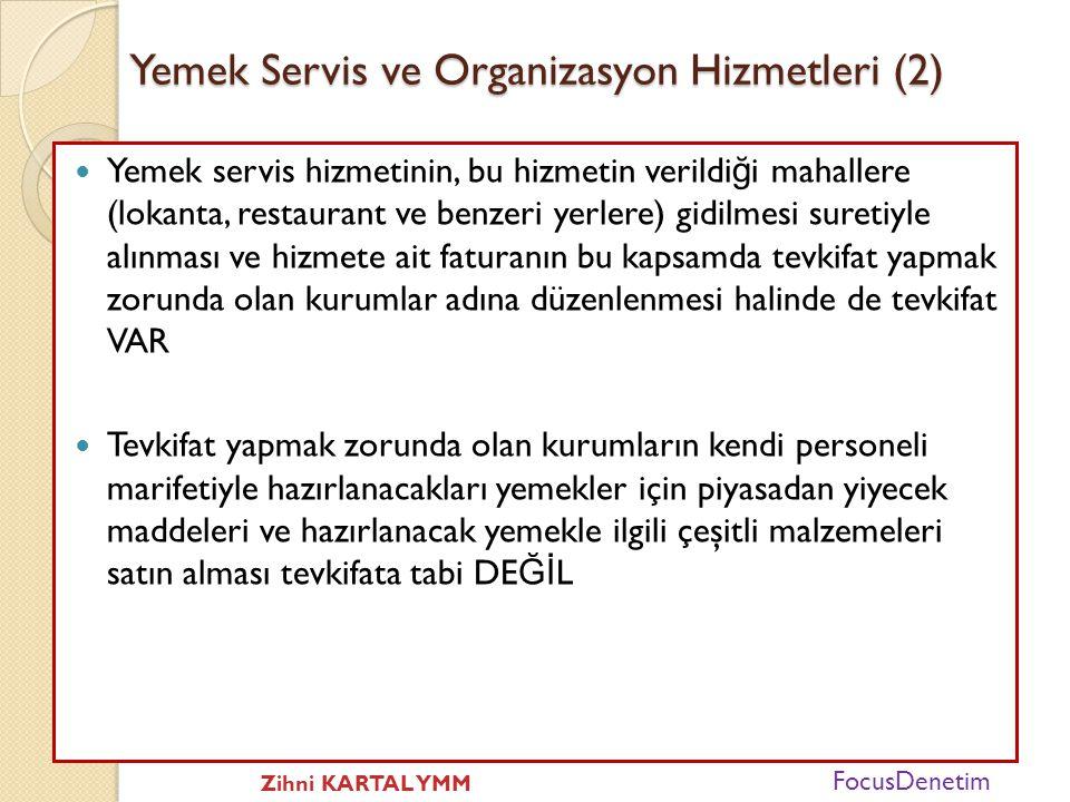 Yemek Servis ve Organizasyon Hizmetleri (2)
