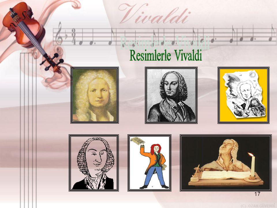 Resimlerle Vivaldi