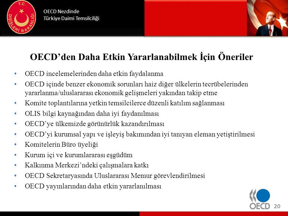 Detaylı Bilgi için OECD web sitesi: http://www.oecd.org